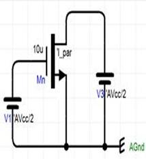 本征增益和特征频率仿真电路