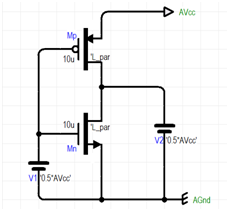 mosfet threshold voltage simulation