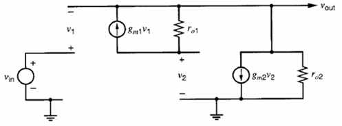 super-source-follower small-signal circuit 2