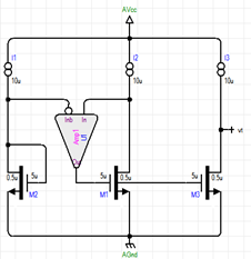 testbench for output resistance