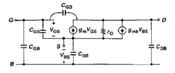 MOSFET小信号模型