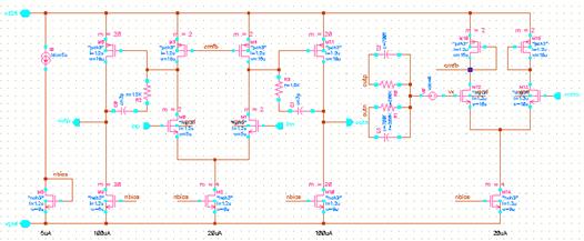 电阻方式等到输出信号的共模