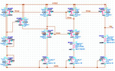 基本的电流镜结构的bandgap