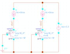 简单的三极管仿真的电路