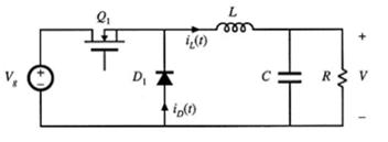基本的buck变换器的电路