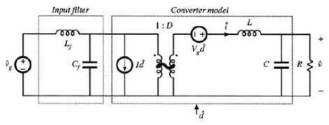 LC输入滤波结构的buck变换器