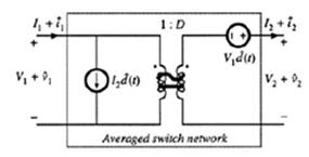 buck开关网络的直流/交流变压器等效