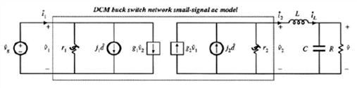 DCM buck converter小信号等效电路
