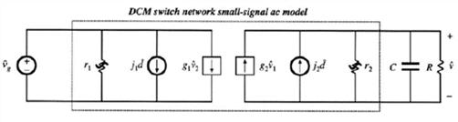 简化的DCM buck converter小信号等效电路