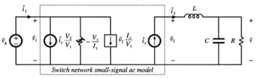 电流控制模式的小信号的开关模型
