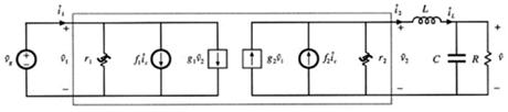 电流控制模式的buck变换器在非连续导通工作时的小信号等效电路