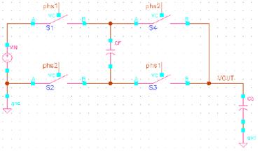 0.5x电荷泵