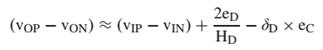 Class-D 放大器输出表达式