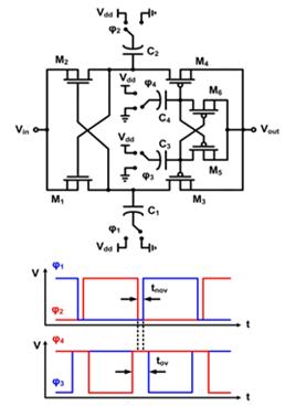 消除反向漏电的 cross-coupled 电荷泵