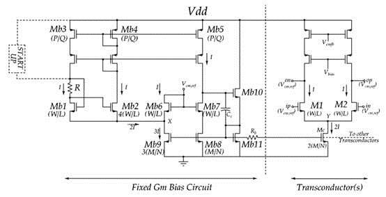 输入级跨导控制电路