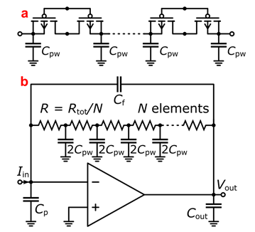 Multi-Element Pseudo-Resistor